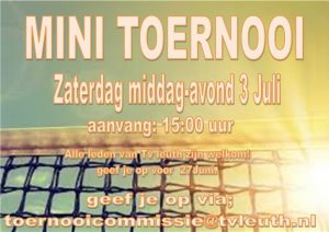 mini toernooi 3 juli 2021 tv leuth